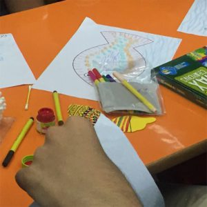 Gond workshop for children with autism - For special needs