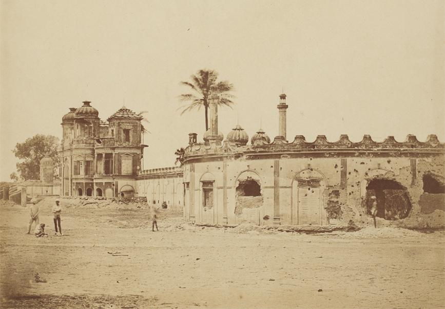 Lucknow under seige -