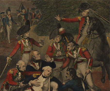 The Death of Col Moorhouse - Anglo Mysore War, Bangalore, Battles & Battlefields, Fort, Robert Home, Sarmaya Stars, Tipu Sultan
