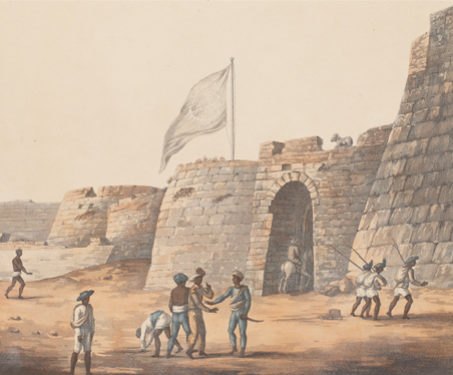 The North Entrance of Bangalore Fort -  Monument, Bengaluru, Conquests & Kingdoms, Fortification, Military Artist, South India