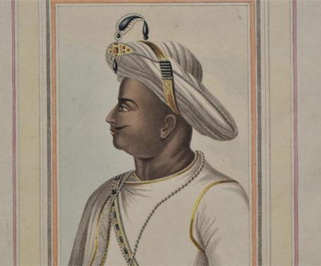 Tippoo Sultan - Imagining Mysore, Jewellery, Karnataka, Kings & Countrymen, Portrait, Turban