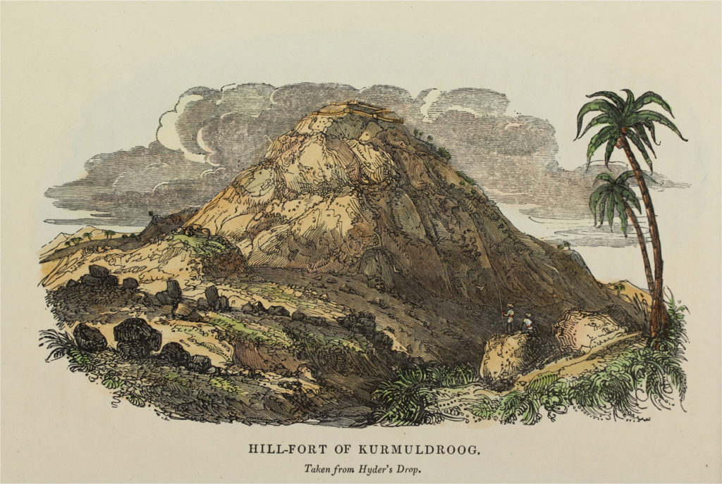 Engraving of the Hill-Fort of Kurmudroog