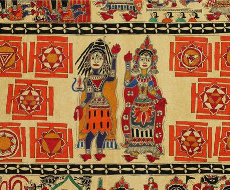 Shiva and Dasha Mahavidyas - Indian Mythology