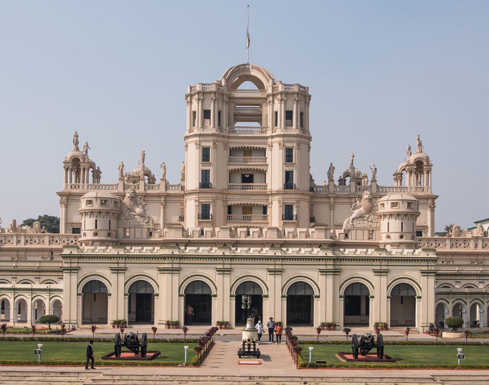 La Martiniere and the sentinels of history -
