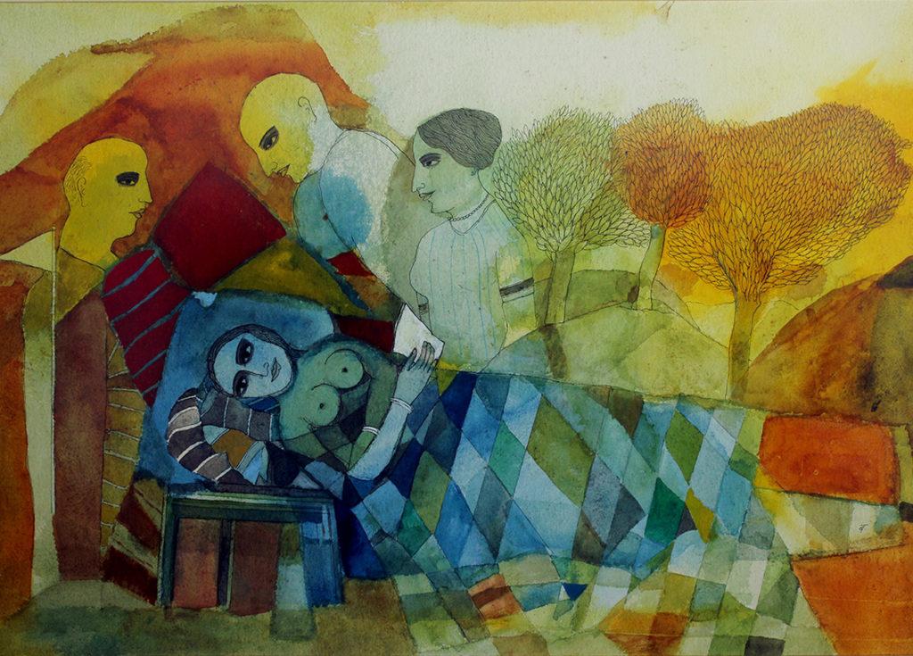 Signature style - Badri Narayan, Contemporary Art, Modern Art