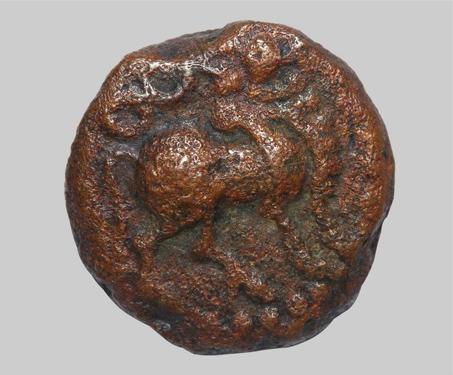 Devaraya I, Vijayanagara, Copper Kasu - Imagining Mysore, Karnataka, Vijayanagara Empire