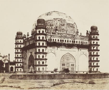 Gol Gumbad, Bijapoor - 19th century, archaeology, Architecture, Karnataka, Sarmaya Stars, Thomas H Biggs