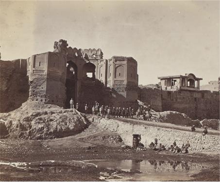 The Fort of Bala Hissar, Kabul - 19th century, Afghanistan, John Burke, Sarmaya Stars