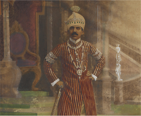 The Nizam of Hyderabad - Costumes, Kings & Countrymen, Nizam, Sarmaya Stars, South India