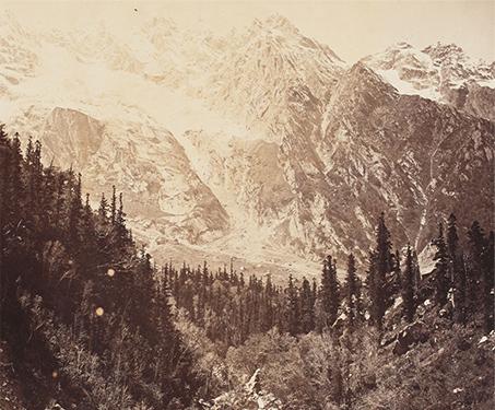 Wanga Valley - Himalayas, Landscape, Samuel Bourne, Sarmaya Stars, Valley