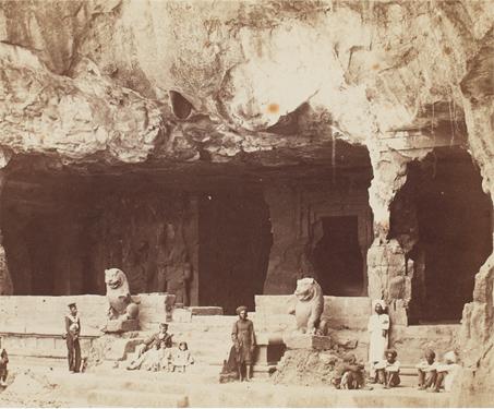 Elephanta - British India, Buddhist, Gharapuri, Hindu, Island, Landscape, Maharashtra, Mumbai