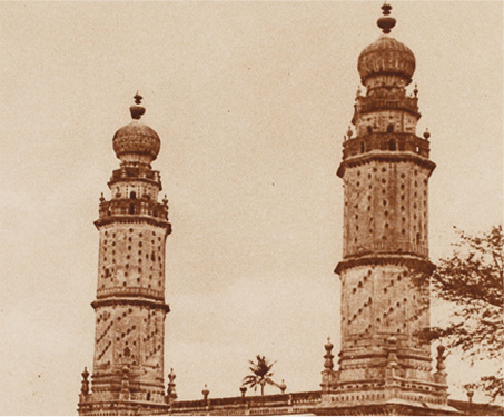 Srirangapatam; The Mosque of Tipu Sultan - 18th century, Architecture, Bangalore Gate, Fort, Gods & Goddesses, Imagining Mysore, Islamic, Jama Masjid, Karnataka