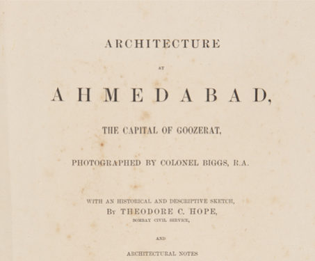 Architecture at Ahmedabad, the Capital of Goozerat -  Islamic Architecture,  Monument, Ahmedabad, Colonial, Travelogue