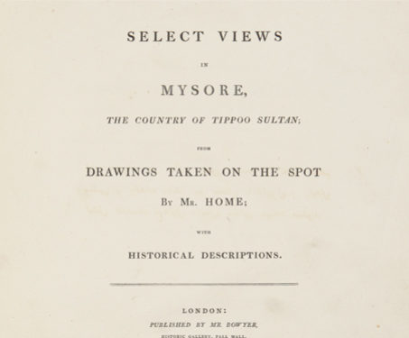 Select View in Mysore -  Marquess Cornwallis, Anglo Mysore War, Colonial, Imagining Mysore, Karnataka