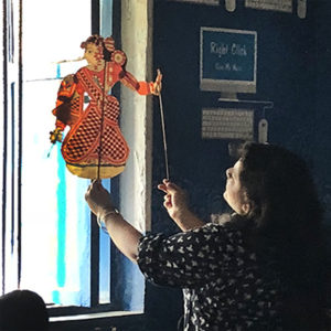 Gond and puppetry workshop with Akanksha Foundation - For schools