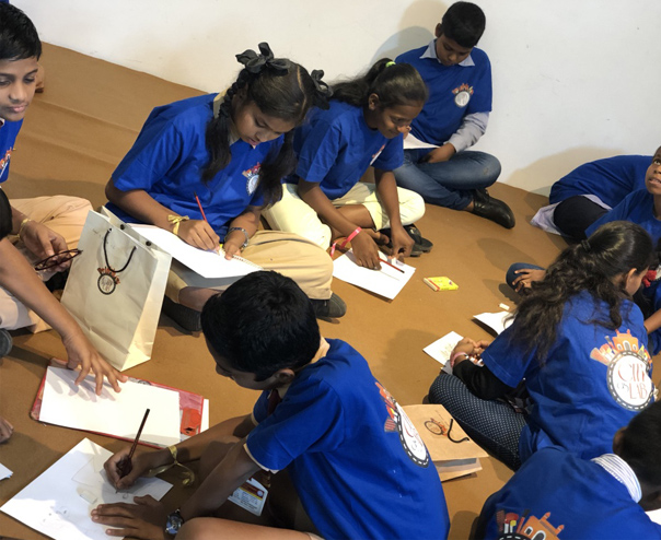 Workshops for City as Lab - For schools