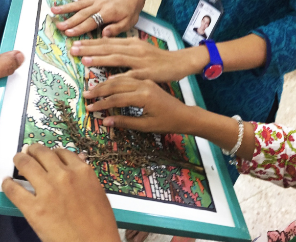 Tactile art experience - For special needs