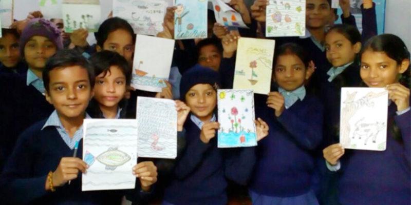Tribal art and eco warriors - Sarmaya @School
