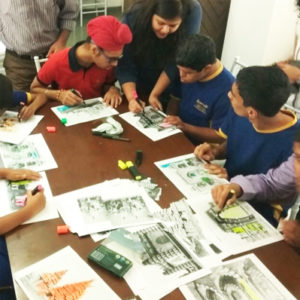 Exhibition workshops for special-needs kids - For special needs