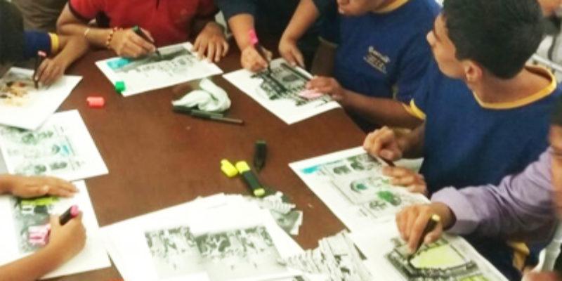 Exhibition workshops for special-needs kids - Sarmaya @School