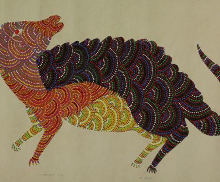 Gond art - Durga Bai, Gond, Jangarh Singh Shyam, Kaushal Prasad Tekam, Rajkumar Shyam