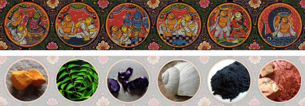 Odisha Pattachitra - Akshaya Kumar Bariki, Folk Art, Odisha, Pattachitra
