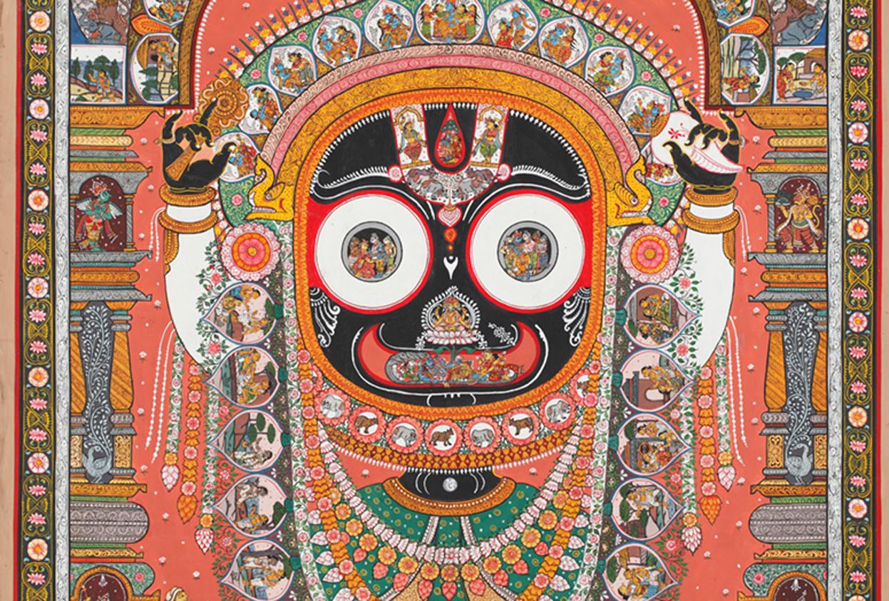 A Shared Canvas - Jagannath, Odisha, Pattachitra