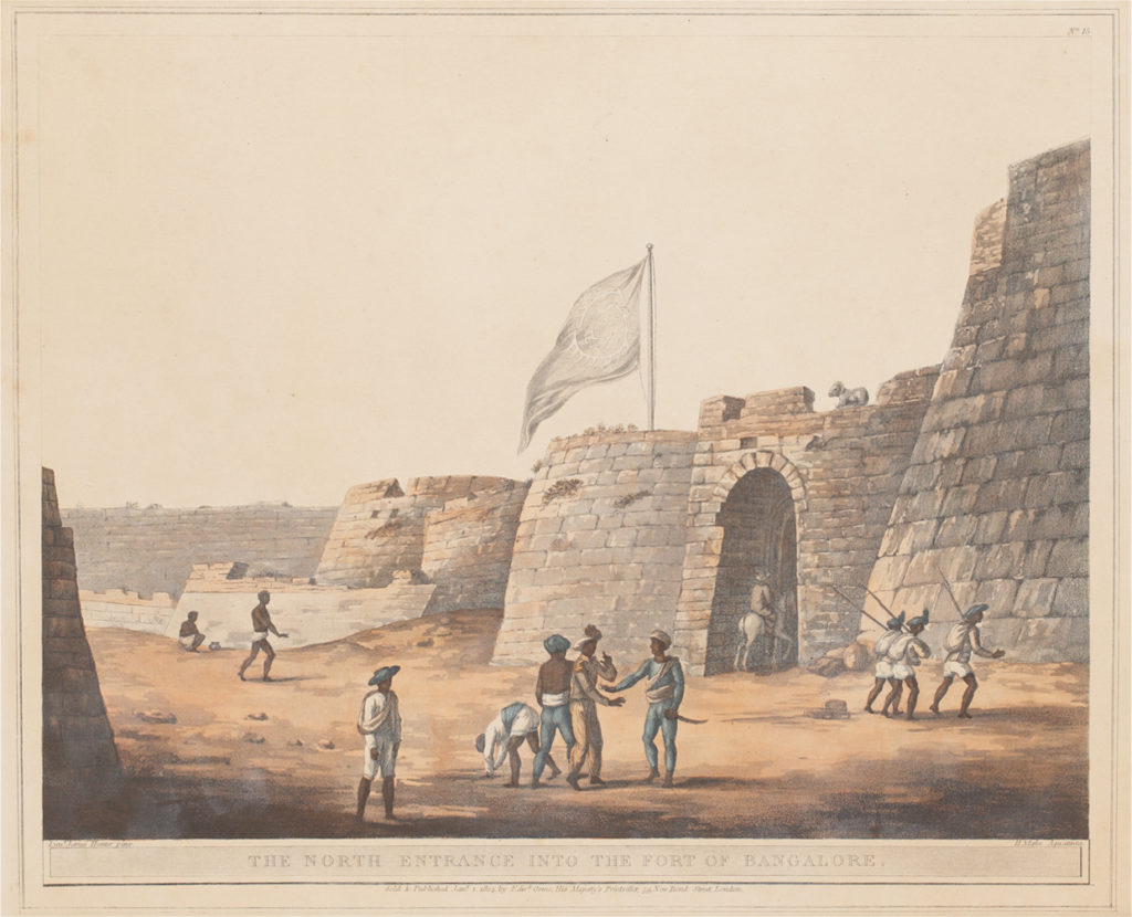 North Entrance into the Fort of Bangalore