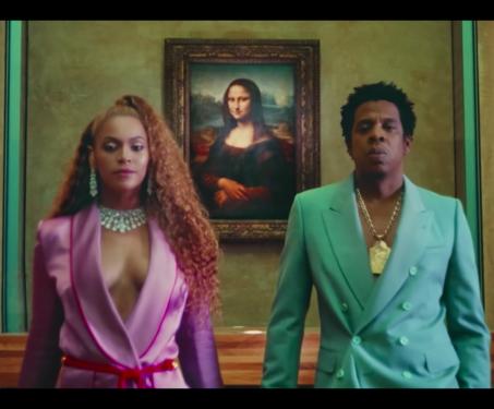 Beyoncé & Jay-Z at the Louvre - Louvre, Music, Pop Culture