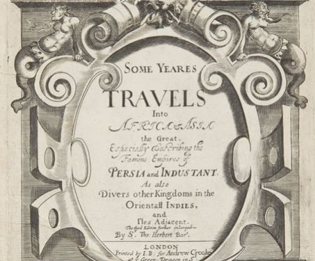 Some Years Travels into Africa and Asia the Great - Africa, Asia, Colonial, durbars, Durbars & Colonials, Ethnography, India, Sir Thomas Herbert Bar, Travelogue