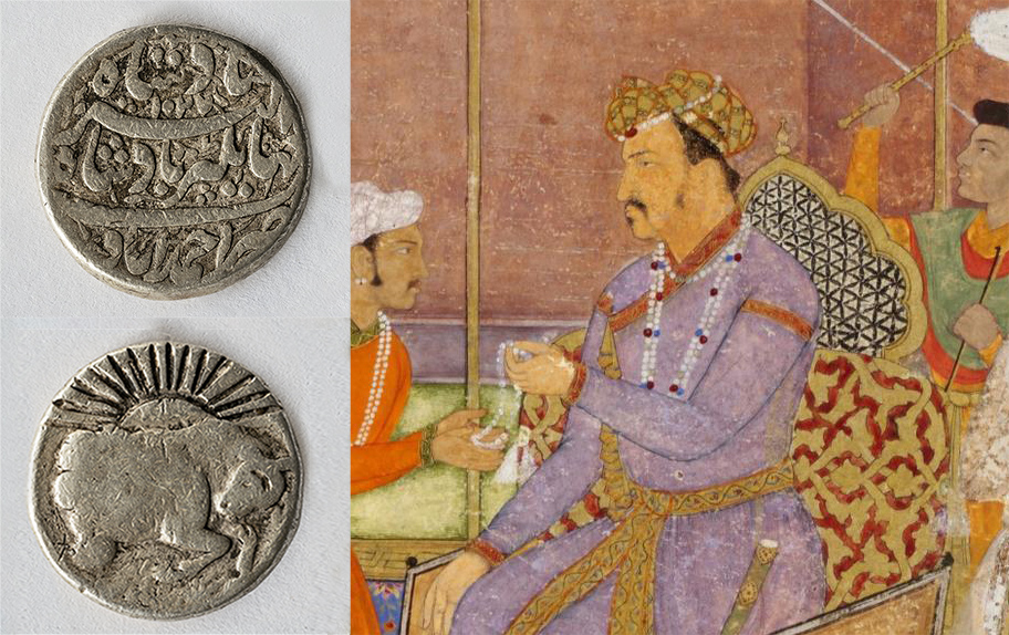Mughal coins by Jehangir