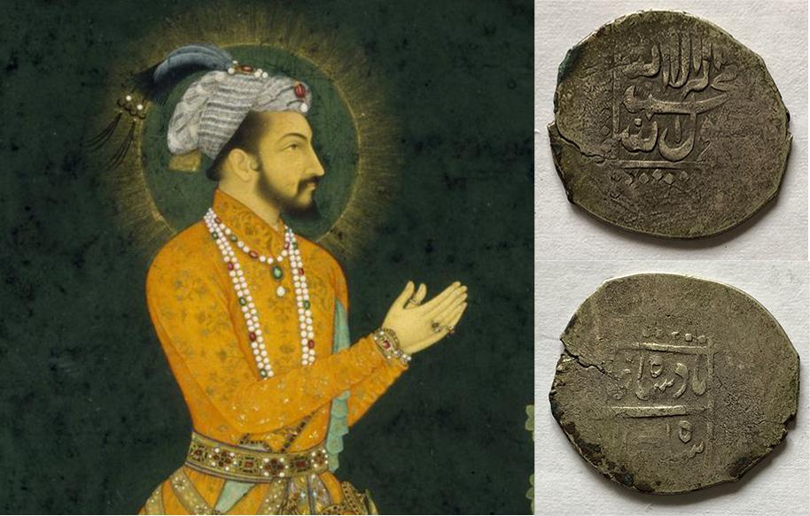 Mughal coins by Shah Jahan