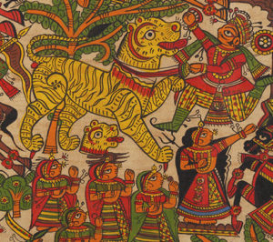 Inside the magical world of Rajasthan's phad paintings - Pabuji ni phad, Phad, Rajasthan, Shrilal Joshi