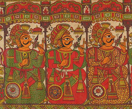 Storytelling in India - Bengal Patua, Phad, tholu bommalaata