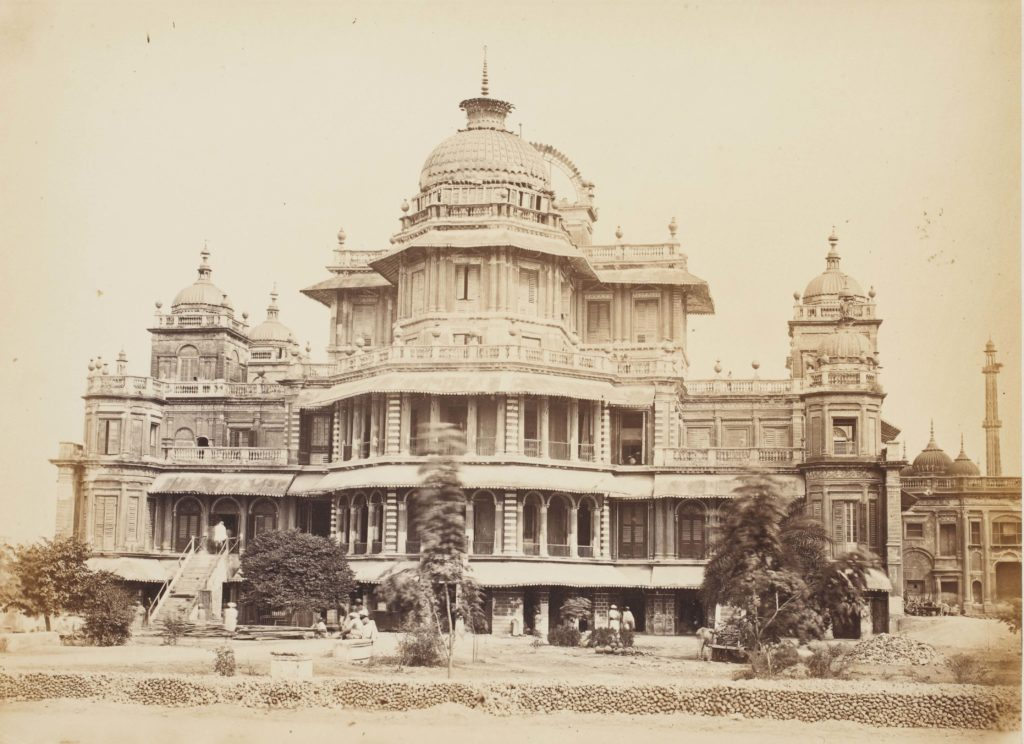 Living Out Loud: Great Indian Palaces - Architecture, Edmund David Lyon, Gwalior, Hyderabad, Junagadh, Lucknow, Maratha, Nawab, palace, palaces, Samuel Bourne, Wajid Ali Shah