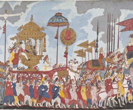 Inside India's Great Traditional Karkhanas - arts, Bidri, Chola Dynasty, craft, featured, Gujarat, Ikat, Indian Royalty, Indore, Miniature Painting, Mughal, Nur Jahan, Pahari, Rajput, royals, sculpture, Taj Mahal, Tanjore, textile, weaving