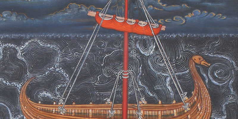 Calming the Storm (triptych) - Sarmaya Stars