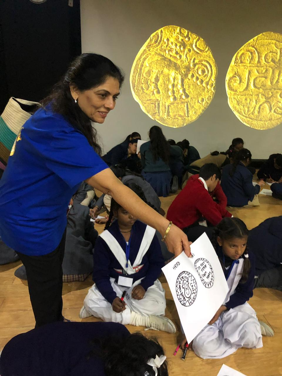 Numismatics workshop for City As Lab - For schools, Mughal Coins