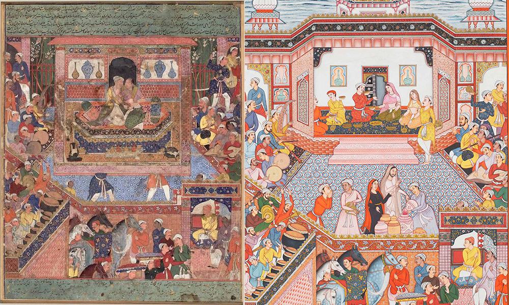Meet the Muse - Akbar, Christian Art, Hamzanama, Issanama, Manish Soni, Mughal Art, Mughal India