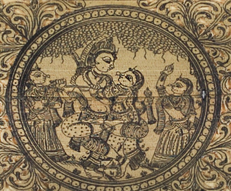 Divine Love: 5 delicious details about the Rasa Lila - Krishna, Lucknow, Pattachitra, Rasa Lila, Wajid Ali Shah