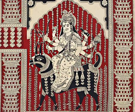 Mata-ni-Pachedi: Meladi Mata - Gods & Goddesses, Mata ni Pachedi, Meladi Mata