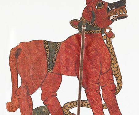 Tholu Bommalaata: Dog-Lion Hybrid - Puppetry, S Chidambara Rao, Shadow Puppets, tholu bommalaata