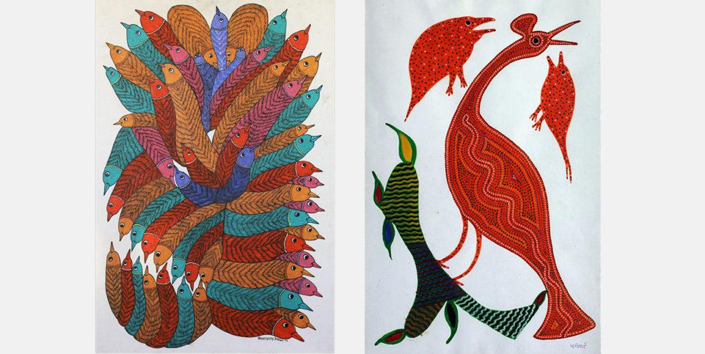 First of Her Tribe - Bhil, Bhuri Bai, Madhya Pradesh, Tribal Art