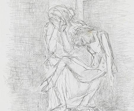 Untitled (pietà) - Christian Art, Gods & Goddesses, Jesus Christ, Krishen Khanna