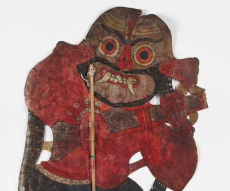 Leather puppets in Karnataka style - Leather puppets