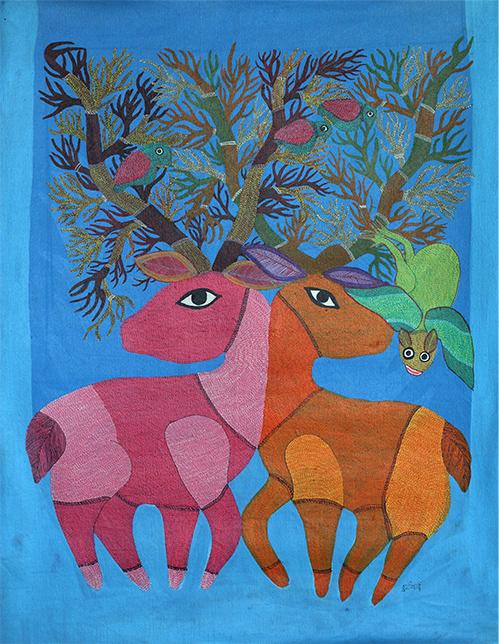 Jungle Book - Durgabai Vyam, Gond, Madhya Pradesh, Tribal Art