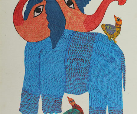 Jungle Book - Durgabai Vyam, Gond, Madhya Pradesh, Tribal Art