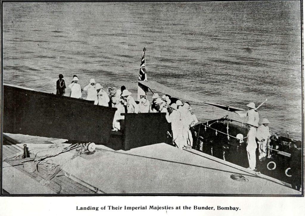 Delhi Durbar 1911: First Stop, Bombay - Bombay Presidency, British India, British Presidency