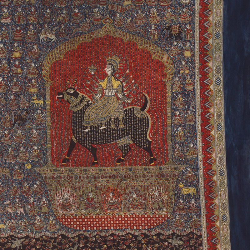 A Mata-Ni-Pachedi Guide to Riding Like A Goddess - Mata ni Pachedi, Meladi Mata, Sanjay Chitara