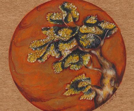 Aandhi - Gouache, Manisha Gera Baswani, Watercolour